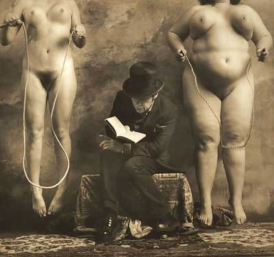 Jan Saudek_The Reader of Dostoievsky_2000